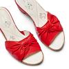 Ciabatte con tacco bata-touch-me, rosso, 664-5303 - 26