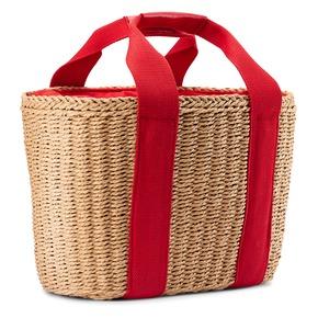 Shopper rigida bata, rosso, 969-5295 - 13