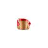 Ciabatte con tacco bata-touch-me, rosso, 664-5303 - 15