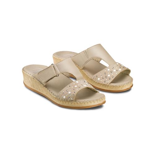 Ciabatte Comfit bata-comfit, beige, 574-3438 - 16