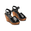 Sandali con zeppa bata, nero, 764-6226 - 16