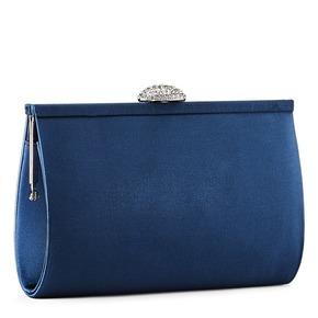 Pochette con tracolla bata, blu, 969-9320 - 13