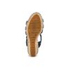 Sandali con borchie bata, nero, 761-6235 - 19