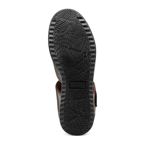 Sandali da uomo bata-comfit, marrone, 864-4126 - 19