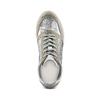 Sneakers Casual bata, grigio, 523-2459 - 17