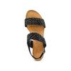 Sandali con strass bata, nero, 569-6256 - 17