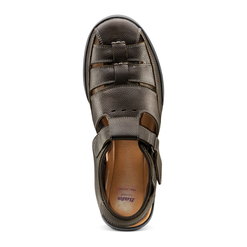 Sandali da uomo bata-comfit, marrone, 864-4126 - 17