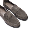 Mocassini in suede bata, grigio, 853-2129 - 26
