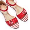 Sandali da donna insolia, rosso, 569-5277 - 26
