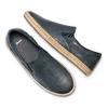 Slip on in pelle bata, blu, 854-9210 - 26