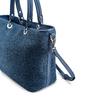 Shopper in rafia bata, blu, 969-9297 - 15