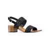 Sandali con strass bata, nero, 669-6280 - 13
