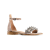Sandali con cinturino bata, beige, 569-8208 - 13