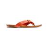 Infradito in pelle bata, arancione, 564-5321 - 13