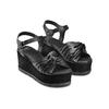 Sandali in pelle bata, nero, 764-6271 - 16
