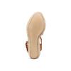 Sandali con zeppa bata, marrone, 764-3116 - 19
