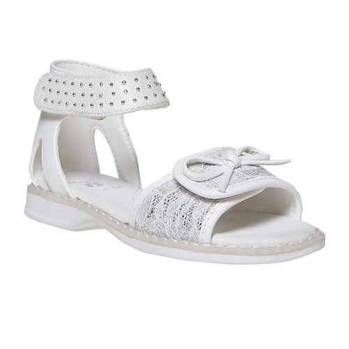 Sandali da ragazza con fiocco mini-b, 261-0177 - 13