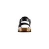 Sandali in pelle bata, nero, 664-6150 - 15