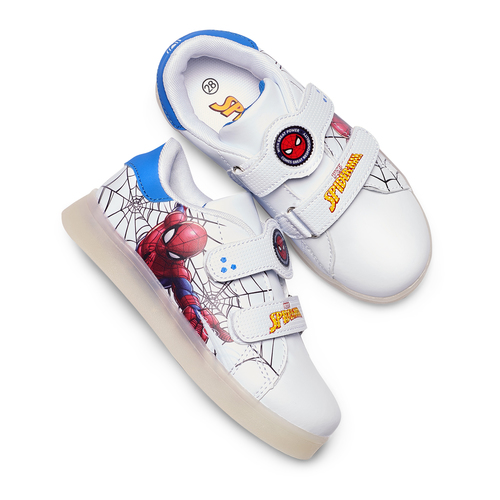 Sneakers con luci spiderman, bianco, 311-1158 - 26