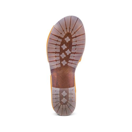 Sandali in vera pelle weinbrenner, marrone, 564-3161 - 19