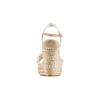 Sandali con zeppa bata, bianco, 769-1244 - 15