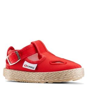 Sandali Superga superga, rosso, 169-5139 - 13