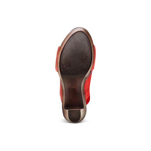 Sandali con tomaia elastica bata, rosso, 779-5110 - 19