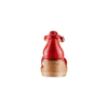 Sandali con zeppa bata, rosso, 661-5354 - 15