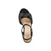 Sandali con zeppa bata, nero, 769-6411 - 17