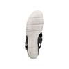 Sandali con strass bata, nero, 761-6321 - 19