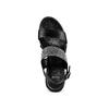 Sandali con strass bata, nero, 761-6321 - 17