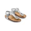 Sandali infradito da bambina mini-b, bianco, 361-1250 - 16