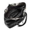 Shopper con borchie bata, nero, 961-6280 - 16