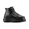 Sneakers alte con platform bata, nero, 541-6231 - 13