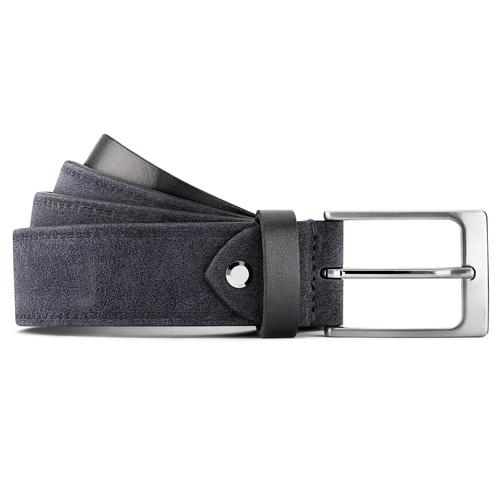 Cintura in suede bata, blu, 953-9116 - 13