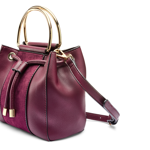 Handbag  bata, rosso, 961-5448 - 15