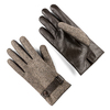 Guanti da uomo con cinturino bata, marrone, 909-4297 - 13