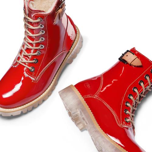 Boot  weinbrenner, rosso, 598-5462 - 26