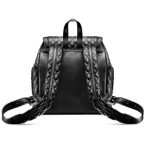 Handbag  bata, nero, 961-6441 - 26