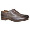Oxford di pelle bata, marrone, 824-2594 - 26